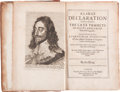 Books:World History, [Charles I]. [Walter Balcanquhall]. A Large DeclarationConcerning the Late Tumults in Scotland, from Their firstorigin...