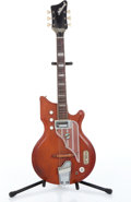 Musical Instruments:Electric Guitars, 1970s National Westwood Cherry Electric Guitar, No SerialNumber....