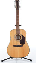 Musical Instruments:Acoustic Guitars, 1970s Martin Sigma DM-1ST Natural 12 String Acoustic Guitar Serial#704492...