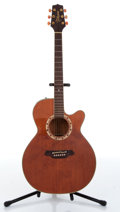 Musical Instruments:Acoustic Guitars, 1990 Takamine EF 508C Natural Electric Acoustic Guitar Serial#90830419....