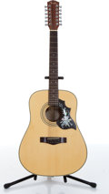 Musical Instruments:Acoustic Guitars, 1990s Fender DG31 Natural 12 String Acoustic Guitar Serial# 98010509....