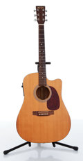 Musical Instruments:Acoustic Guitars, 1997 Martin DC1E Natural Electric Acoustic Guitar Serial# 677721....