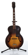 Musical Instruments:Acoustic Guitars, 1958 Harmony Master Natural Burst Acoustic Guitar....