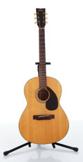 Musical Instruments:Acoustic Guitars, 1960s Yamaha FG-75 Red Label Acoustic Guitar....