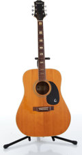 Musical Instruments:Acoustic Guitars, 1970s Epiphone FT 350 El Dorado Acoustic Guitar....