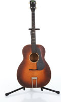 Musical Instruments:Acoustic Guitars, 1930s Regal Two-Tone Burst Tenor Acoustic Guitar....