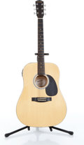 Musical Instruments:Acoustic Guitars, Fender Starcaster Model# 0910103121 Natural Electric AcousticGuitar Serial# 0060711336....