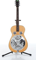 Musical Instruments:Resonator Guitars, Regal Natural Square Neck Dobro Resonator Guitar....