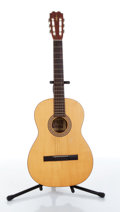 Musical Instruments:Acoustic Guitars, Bjarton B 10 Classical Natural Acoustic Guitar. Serial#1-001045....