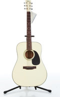 Musical Instruments:Acoustic Guitars, 1985 Aria PW-19W White Acoustic Guitar Serial# 554867....