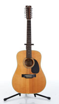 Musical Instruments:Acoustic Guitars, 1987 Fender F55 Natural 12 String Acoustic Guitar Serial# F 7838307....
