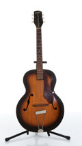 Musical Instruments:Acoustic Guitars, 1950s Gretsch New Yorker Orange Burst Acoustic Guitar....