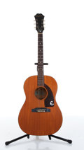 Musical Instruments:Acoustic Guitars, 1964 Epiphone FT30 Caballero Natural Acoustic Guitar Serial#156350....