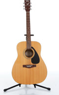 Musical Instruments:Acoustic Guitars, 2000 Yamaha F310 Folk Natural Acoustic Guitar Serial# 00522014....