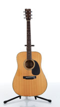 Musical Instruments:Acoustic Guitars, 1970s Fender F-65 Natural Acoustic Guitar....
