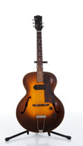 Musical Instruments:Electric Guitars, 1950's Gibson ES 125 Sunburst Hollow Body Electric Guitar #N/A. ...