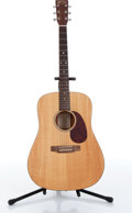 Musical Instruments:Acoustic Guitars, 1995 Martin DM Mahogany Dreadnought Acoustic Guitar Serial#585129....