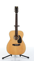 Musical Instruments:Acoustic Guitars, 1970s Sigma By Martin GCS-4 Natural Acoustic Guitar Serial#21244....