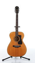 Musical Instruments:Acoustic Guitars, 1970s Madeira A-5 By Guild Natural Acoustic Guitar Serial# S 558....