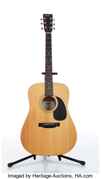 1970s Sigma By Martin Dm 2 Natural Acoustic Guitar Lot 81049