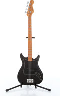 Musical Instruments:Bass Guitars, Harmony Student Black 4-String Electric Bass Guitar, No Visible Serial#....