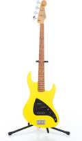 Musical Instruments:Bass Guitars, 1991 Fender American JP-90 Yellow Electric Bass Guitar Serial# N002471....