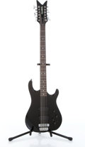 Musical Instruments:Bass Guitars, 1987 Hamer Chaparral 12-String Black Electric Bass Guitar Serial# 1702709....