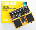 Musical Instruments:Amplifiers, PA, & Effects, 2007 Boss OD-20 Overdrive / Distortion Twin Pedal Serial#T761294057988....