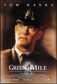 """The Green Mile (Warner Brothers, 1999). One Sheet (27"""" X 40""""). DS Advance. Crime"""