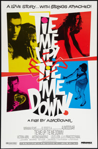 "Tie Me Up! Tie Me Down! (Miramax, 1990). One Sheet (27"" X 41""). Drama"