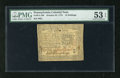 Colonial Notes:Pennsylvania, Pennsylvania October 25, 1775 10s PMG About Uncirculated 53EPQ.This is a boldly signed and very well margined example of th...