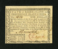 Colonial Notes:Rhode Island, Rhode Island July 2, 1780 $1 New. A screaming gem New note withexcellent everything one could hope for but with a rather la...