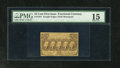 Fractional Currency:First Issue, Fr. 1281 25c First Issue PMG Chocie Fine 15. The edges look nice for the grade....