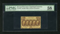 Fractional Currency:First Issue, Fr. 1282 25c First Issue PMG Choice About Unc 58. A delightful example of this much scarcer no monogram variety that doesn't...