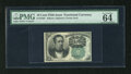 Fractional Currency:Fifth Issue, Fr. 1264 10c Fifth Issue PMG Choice Uncirculated 64EPQ. A very niceexample of this much scarcer green back Meredith note th...