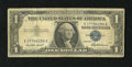 Error Notes:Inverted Reverses, Fr. 1619 $1 1957 Inverted Reverse Silver Certificate. Very Good..Despite its huge print run, inverts in this series are ver...
