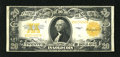 Large Size:Gold Certificates, Fr. 1187 $20 1922 Gold Certificate Fine-Very Fine. Dark inks and snappy paper are associated with this $20 Gold....
