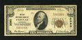 National Bank Notes:Kentucky, Paducah, KY - $10 1929 Ty. 1 The City NB Ch. # 2093. This bankissued Type 1 only in four different denominations throug...