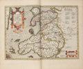 Books:Maps & Atlases, Norman J. W. Thrower. A Leaf from the Mercator-Hondius WorldAtlas, Edition of 1619....