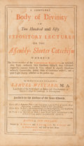 Books:Religion & Theology, Samuel Willard. A Compleat Body of Divinity in Two Hundred and Fifty Expository Lectures on the Assembly's Shorter Catec...