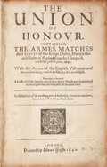 Books:World History, James Yorke. The Union of Honour. Containing the Armes,Matches and Issues of the Kings, Dukes, Marquesses and Ear...