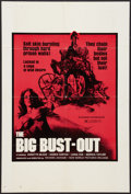 "Movie Posters:Exploitation, The Big Bust-Out (New World, 1973). One Sheet (23"" X 34"").Exploitation.. ..."