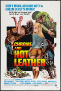 "Movie Posters:Exploitation, Chrome and Hot Leather (American International, 1971). One Sheet(27"" X 41""). Exploitation.. ..."