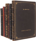 Books:Signed Editions, [James A. Garfield] A Collection of Seven Volumes Inscribed orPresented to Mrs. James A. Garfield.. ... (Total: 7 Items)