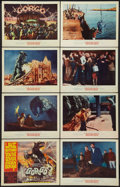 "Movie Posters:Science Fiction, Gorgo (MGM, 1961). Lobby Card Set of 8 (11"" X 14""). ScienceFiction.. ... (Total: 8 Items)"