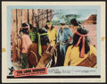 "Movie Posters:Western, The Lone Ranger and the Lost City of Gold (United Artists, 1958).Autographed Lobby Card (11"" X 14""). Western.. ..."