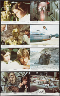"Star Wars (20th Century Fox, 1977). Mini Lobby Card Set of 8 (8"" X 10""). Science Fiction. ... (Total: 8 Items)"