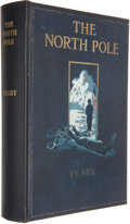 Books:Travels & Voyages, Robert E. Peary. The North Pole. New York: Frederick A. Stokes, 1910. First edition. Octavo. Rebound in blue cloth, ...