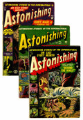 Golden Age (1938-1955):Horror, Astonishing Group (Atlas, 1951-53) Condition: Average VG-....(Total: 7 Comic Books)