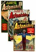 Golden Age (1938-1955):Horror, Astonishing Group (Atlas, 1955-57) Condition: Average GD/VG....(Total: 12 Comic Books)